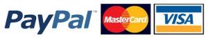 Paypal Visa mastercard 1