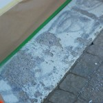 Peintures Micasa - Béton garage endommagé